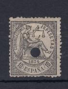 0700 EDIFIL Nº 152- T - 1873-74 Regencia
