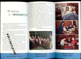 SUEDE Sunlit Nights Land Cruises 1952 - Exploration/Voyages