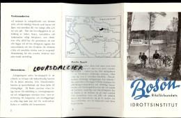 SUEDE BOSON Institut Des Sport 1952 Idrottsinstitut 1952 - Livres, BD, Revues