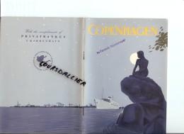 COPENHAGEN En Anglais Nombreuses Photos En Noir Et Blanc 1952 28 Pages - Exploration/Voyages