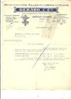 88 - Vosges - MARTIGNY-LES-BAINS - Facture GERARD - Spécialités Alimentaires – 1941 - REF 43C - 1900 – 1949