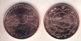 """10 Euro 10€ - Münze Kupfer Aus 2016, """"Österreich"""" UNC - Oesterreich"""