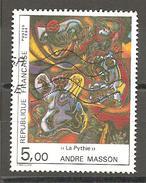 FRANCE - 1984 . Y&T N° 2342 Oblitéré. Peinture D'André MASSON - Francia