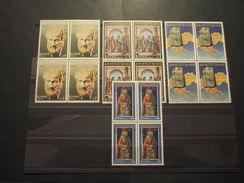 GRECIA - 1978 ARISTOTELE/ARTE 4 Valori,in Quartine(blocks Of Four) - NUOVI(++) - Nuovi