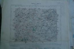 02- CAMBRAI- CARTE GEOGRAPHIQUE 1891- HONNECOURT-CAGNICOURT-LAGNICOURT-BAPAUME-MORVAL-NURLU- DOIGNIES-RANCOURT-PROVILLE- - Cartes Géographiques