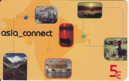 GREECE - Asia Connect Prepaid Card 5 Euro, Exp.date 31/12/08, Sample - Greece