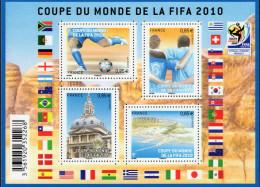 "La Feuille F4481 ""COUPE DU MONDE DE FOOTBALL 2010"" Luxe Bas Prix, A SAISIR. - Volledige Vellen"