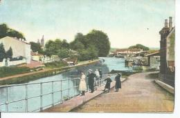 1324 - BAR-LE-DUC - VUE DU CANAL - PORT  ( Animées ) - Bar Le Duc