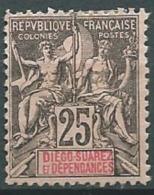 Diego Suarez   -  - Yvert N° 32 *  - Ava1211 - Diégo-Suarez (1890-1898)