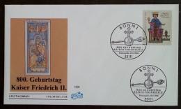 ALLEMAGNE - FDC 1994 - YT N°1567 - NAISSANCE DE L'EMPEREUR FREDERIC II - BONN - FDC: Covers