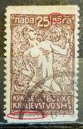 CHAIN BREAKERS-25 P-ERROR-SHS-SLOVENIA-YUGOSLAVIA-1920 - 1919-1929 Royaume Des Serbes, Croates & Slovènes