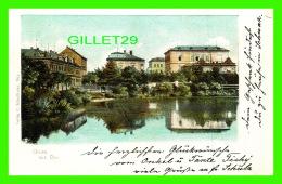 DUX, TCHÉQUIE - GRUSS AUS DUX - TRAVEL IN 1901 - UNDIVIDED BACK - C. SCHEITHAUER - - Tchéquie