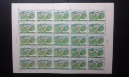 RUSSIA 1979 MNH (**)YVERT 141 Airmail.sheet 5x5 - Ganze Bögen