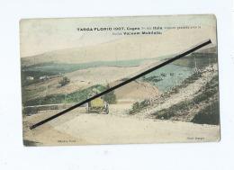 CPA -  Targa Florio 1907.Cagno 5é Sur ITALA ,voiture Graissée Avec Les Huiles Vacuum Mobiloils(course Voiture,aut - Other