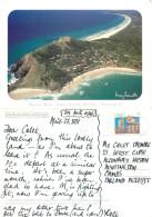 Byron Bay, NSW, Australia Postcard Posted 1997 Stamp - Australië