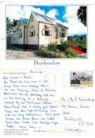Chattel House, Barbados Postcard Posted 2009 Stamp - Barbados