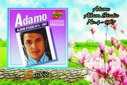 Carte Postale, Célébrités,  Chanteurs, Belgium, Full Collection Salvatore Adamo, 1968, Adamo Album Studio No 4 (Belgium) - Sänger Und Musikanten