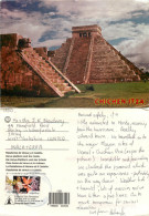 Chichen Itza, Mexico Postcard Posted 2003 Stamp - Mexiko