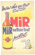 Buvard Ancien Mir Nettoie Tout Partout - Blotters