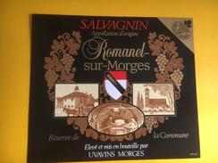 2005 - Suisse Vaud Romanel-sur-Morges Réserve De La Commune - Etiquettes