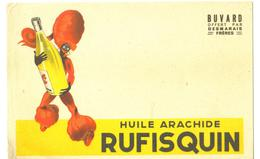 Buvard Ancien Rufisquin Huile D'Arachide - H