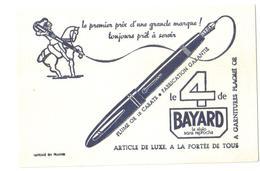 Buvard Ancien Stylo Bayard - Buvards, Protège-cahiers Illustrés