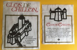 2015 - Suisse Clos De Chillon Réserve De L'association Pour La Restauration Du Château De Chillon - Etiquettes