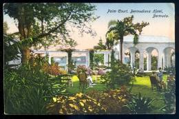 Cpa Antilles Les Bermudes Bermuda -- Palm Court Bermudiana Hotel     JIP20 - Bermudes