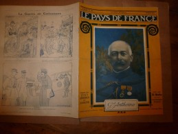 1917 LPDF :Catastrophe LACONIA; First Motor Battery -Tarrytown (USA);Les BALLONS;L'heure PINARD;Cargo ROCHESTER;Complot - Magazines & Papers