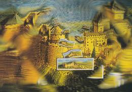 TIMBRE POSTE CHATEAU DU HAUT KOENIGSBOURG (dil201) - Timbres (représentations)