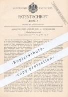 Original Patent - A. L. Lönnerberg , Stockholm , Schweden , 1892 , Apparat Zur Inhalation , Inhalieren | Medizin , Arzt - Historische Dokumente