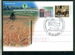 POLSKA - KARTKA POCZTOWA - MARCOFILIA - 2004 -  PARCHI - Interi Postali