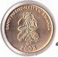 Rwanda 5 Francs 2003 - UNC - Rwanda