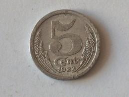 Jeton Chambre De Commerce D'eure Et Loir  5 Cent 1922 - Monétaires / De Nécessité