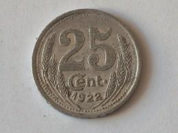 Jeton Chambre De Commerce D'eure Et Loir  25 Cent 1922 - Monétaires / De Nécessité