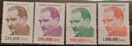 Turkey, 1999, Mi:3197/00 (MNH) - 1921-... Republic