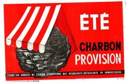 Cha C/Buvard  Charbon Combustible (N= 1) - Buvards, Protège-cahiers Illustrés