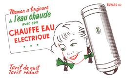 E E/Buvard  Chauffe Eau  (N= 4) - Electricité & Gaz