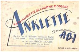 Ch A/Buvard  Chaussette Anklette  (N= 1) - Buvards, Protège-cahiers Illustrés