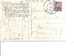 Hongrie ( CP De 1939 De Tat Vers L'Allemagne à Voir)