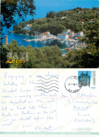 Loggos, Paxos, Greece Postcard Posted 2003 Stamp - Greece