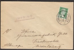 Turkey Istanbul 1937 / Sent To Germany - 1921-... Republic