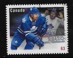 CANADA, 2013,USED  # 2676,  NHL- TEAMS JERSEYS   TORONTO MAPLE LEAFS - 1952-.... Règne D'Elizabeth II