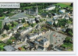 Pontchâteau.. Belle Vue Aérienne De La Ville - Pontchâteau