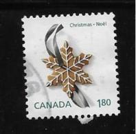 "CANADA, MNH, 2012, USED #2581c,   CHRISTMAS GINGERBREAD COOKIES, SINGLE ""INTERNATIONAL Rate"" From Sheetlet USED - 1952-.... Règne D'Elizabeth II"