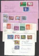 Switzerland 4 Covers - Zwitserland
