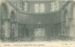 LOUVAIN - Intérieur De L'Eglise Des Frères Alexiens - Leuven