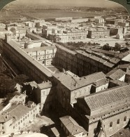 Italie Rome Vatican Panorama Ancienne Photo Stereo Underwood 1900 - Stereoscopic
