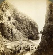 Italie Sud Couvent St Marie De La Mer Ancienne Photo Stereo Underwood 1900 - Stereoscopic