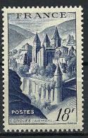 "FR YT 805 "" Abbaye De Conques, Bleu "" 1948 Neuf** - France"